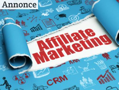 Markedsfører dig gennem affiliate marketing